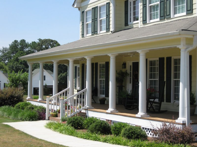 Architectural column photo gallery for Front porch pillars design