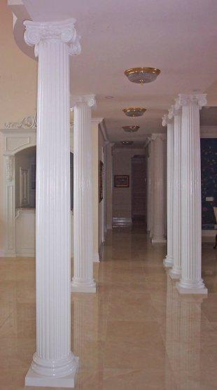 #33 Interior Fluted Scamozzi Columns