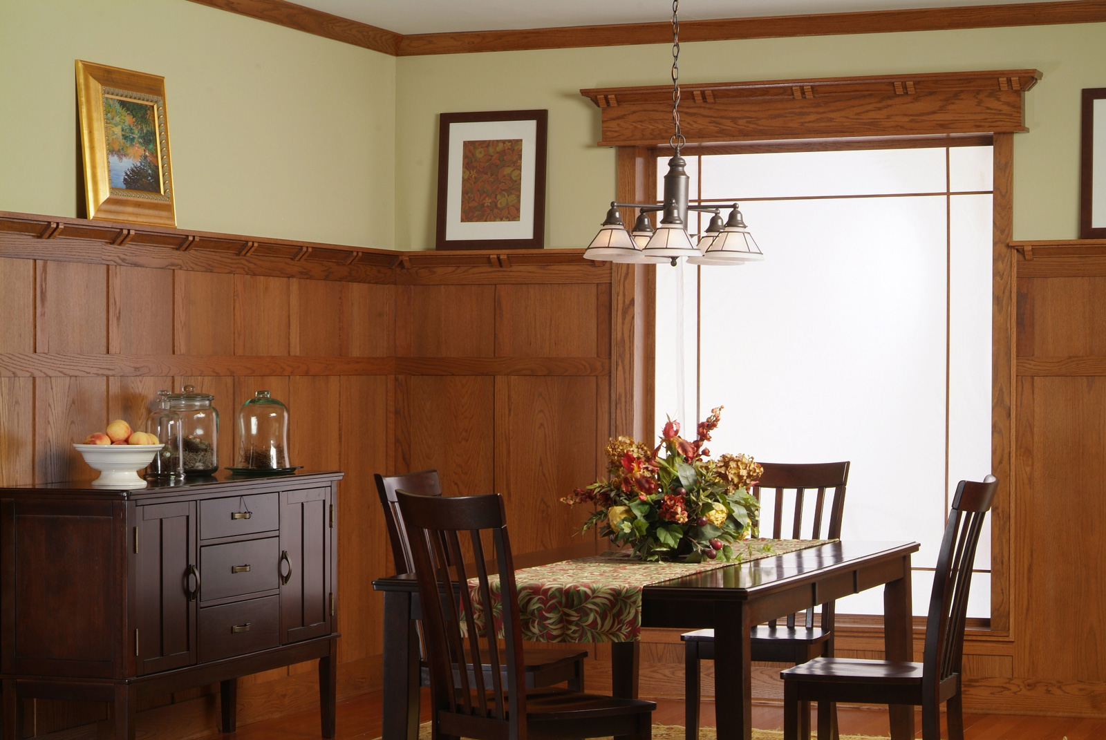 classic craftsman paneling system