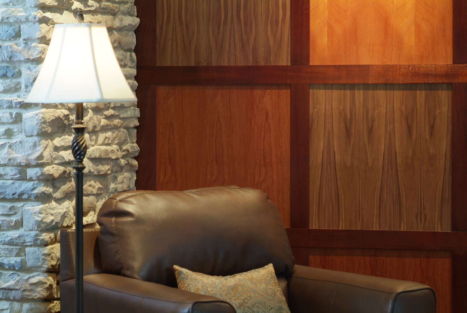 Contemporary Wood Paneling For Walls : Modern paneling by design the space