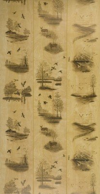 Wood Panels Nature S Woods Deer And Duck Paneling