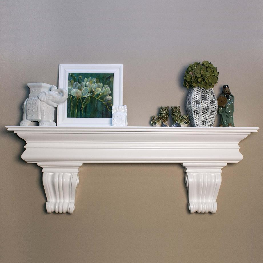 Clanton Shelf with Beautiful Corbels