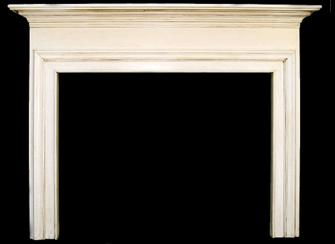 Custom Albertville Mantel with Glaze Finish