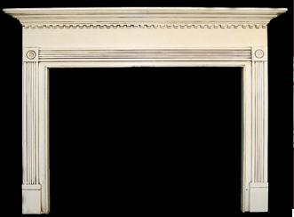 Glazed Finish on a fireplace mantel