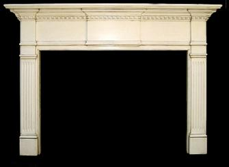 Mantel like our San Pablo with a glazed finish