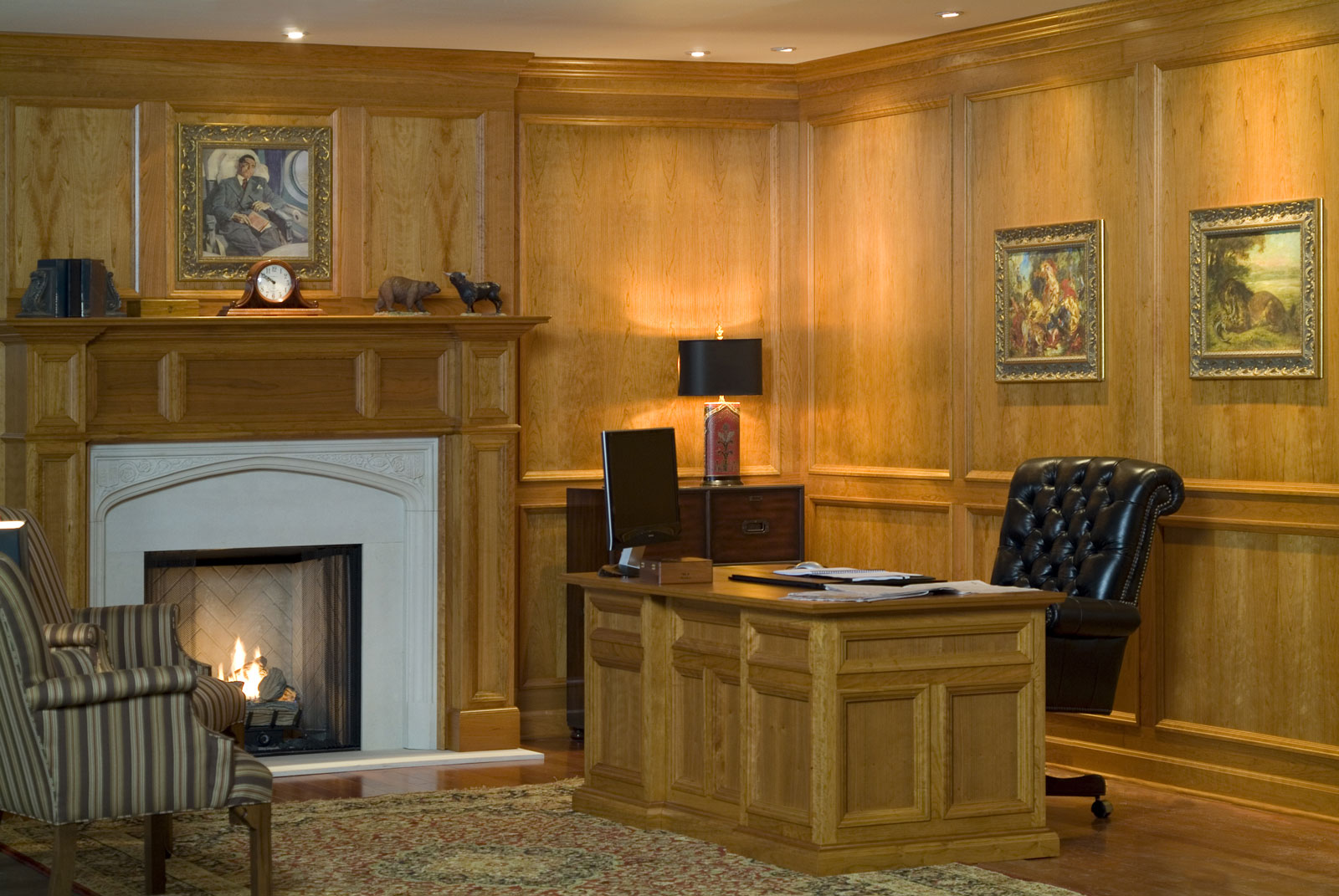 Traditional Raised Molding Paneling By Design The E