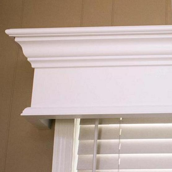 A Window Cornice installed