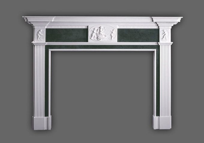 Genuine English Styled marble mantels