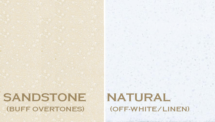 Stone mantel color choices