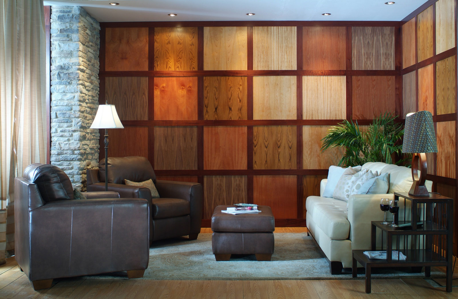 Modern Architectural Paneling Multiple Veneers