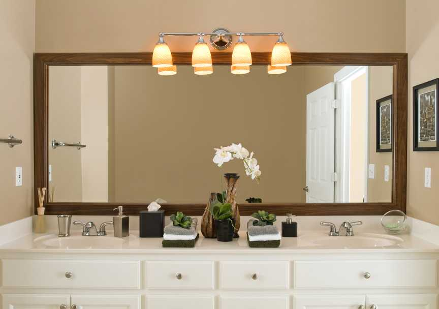 Wakefield Bathroom Mirror Frame