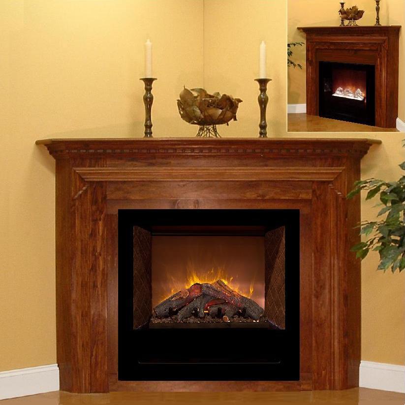 Modern Flames Corner Mantel